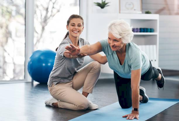 Лечебная физкультура в системе медицинской реабилитации больных и пожилых людей