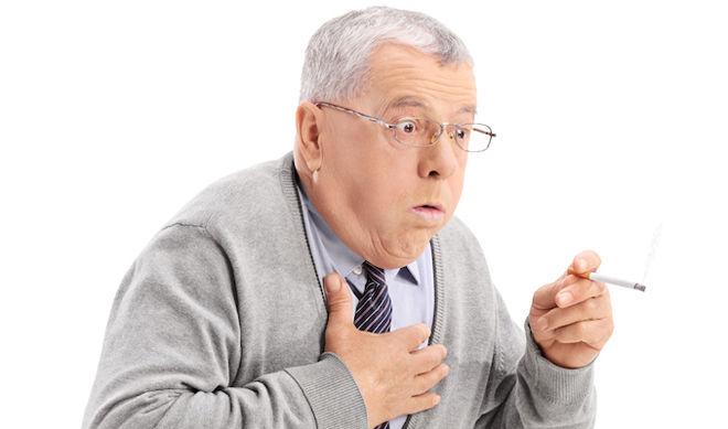 Хроническая обструктивная болезнь лёгких (ХОБЛ) -